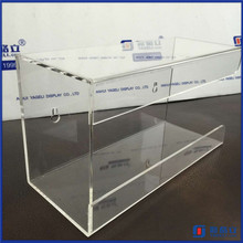 Hot Sell Low Price Popular Acrylic Single Glove Box Holder / Plexiglass Wall Mount Glove Dispenser