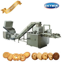 Skywin Model-600 Biscuit Production Line,Wire-Cut Cookie and Butter Chips Cookies Making Machine