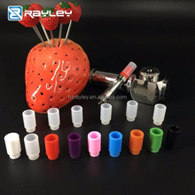 New products Cheapest Disposable Colorful Rubber Testing 510 food grade Silicon Drip Tips