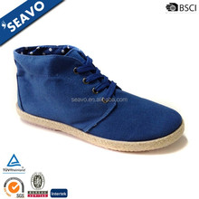 SEAVO SS17 low price blue high quality casual stylish canvas shoes for boys