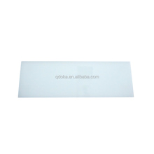 high quality school class clear glass strong magnetic writing board
