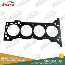 Wholesale OE 11115-75100 2TR Steel Engine Cylinder Head Gasket For Toyota Hiace 2005-up