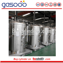Cryogenic Tank for Liquid Nitrogen with Vaporizer
