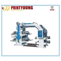 YT-4600 Full Automatic 4 color flexo printing machine