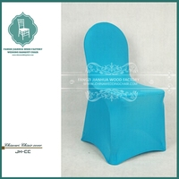 Round top banquet chair covers