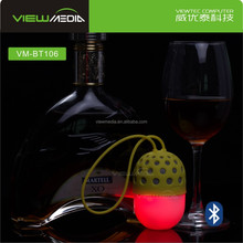 VM-BT106 Egg Design Fashion Bluetooth Speaker with LED Handsfree portable mp3 player