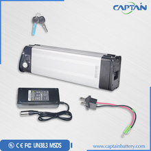 24V 20Ah Silver Fish Lithium ion Rechargeable Battery Pack for Electric bike/ Scooter/Golf Car /Motorcycle