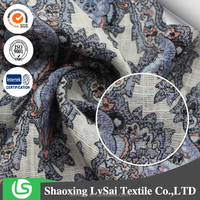Popular High Quality Rayon Printed Fabric For Garment