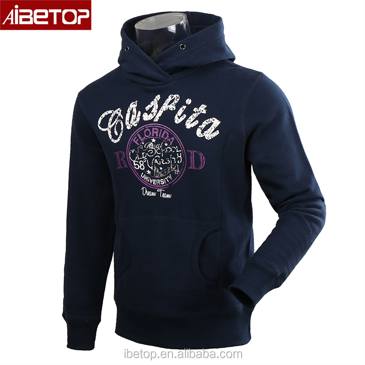 OEM Factory for men thick fleece graphic hoodies oem