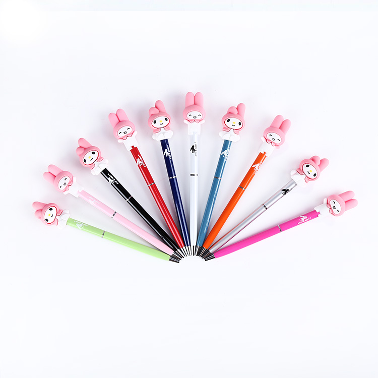 2018 office& school use slim twist metal body ballpoint writing pen