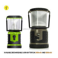 Camping Hand Crank Portable Light Led Solar Lantern With Phone Charger