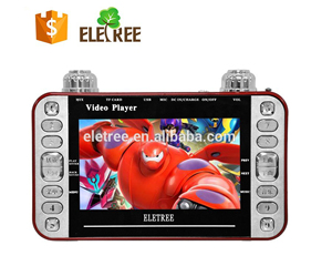 Hindi Supportable Kids Mp4 Player Videos/Songs Player