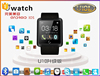 Trade Assurance Passometer bluetooth smart watch cell phones U10L