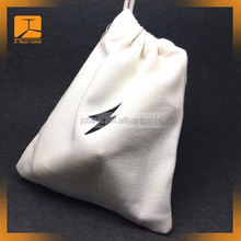 Professional custom canvas drawstring pouch, small canvas drawstring bag