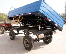 Good price Agricuture product 4ton Farm trailer for tractor