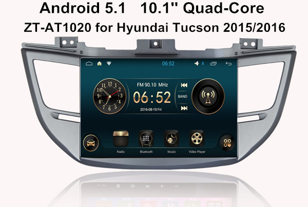 android car radio navigation system for hyundai tucson 2015 2016 gps dvd