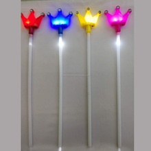 3170712-48 LED small crown shape glow stick for party favors