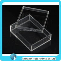 small clear plexiglass box plastic box with lid high crystal acrylic wedding favor box with cover