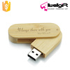 Custom Logo Engraved Wooden USB Flash Drives