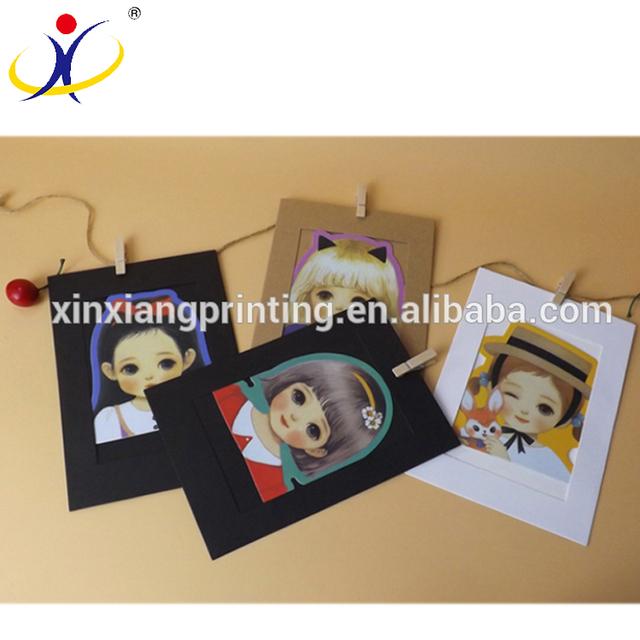 Cheap Handmade Kraft Paper Photo Frames
