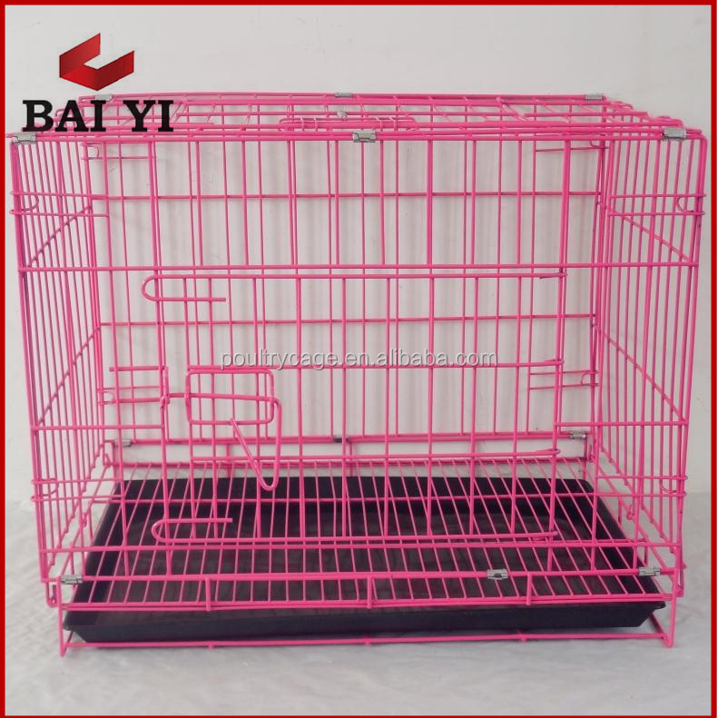Foldable iron mesh dog kennel for dogs