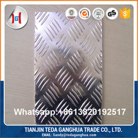 China price of stainless steel aluminium checkered plate