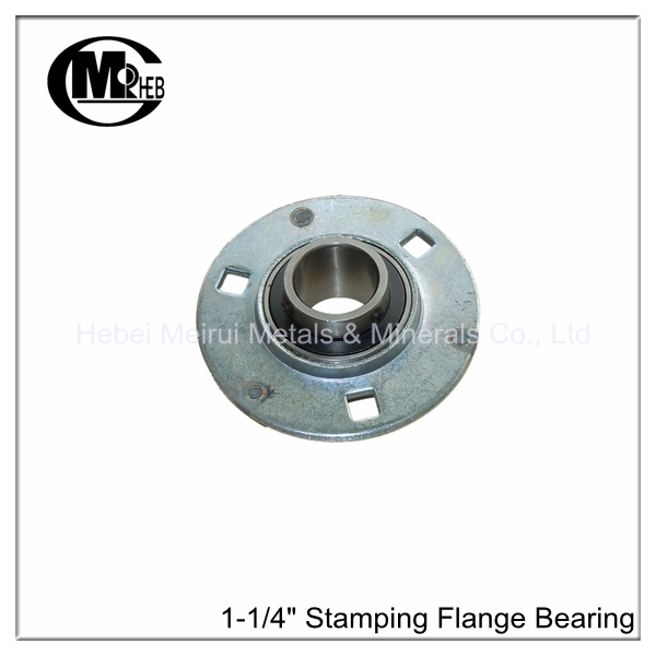 Double Stamping Flange Door Bearing For Industrial Roller Door