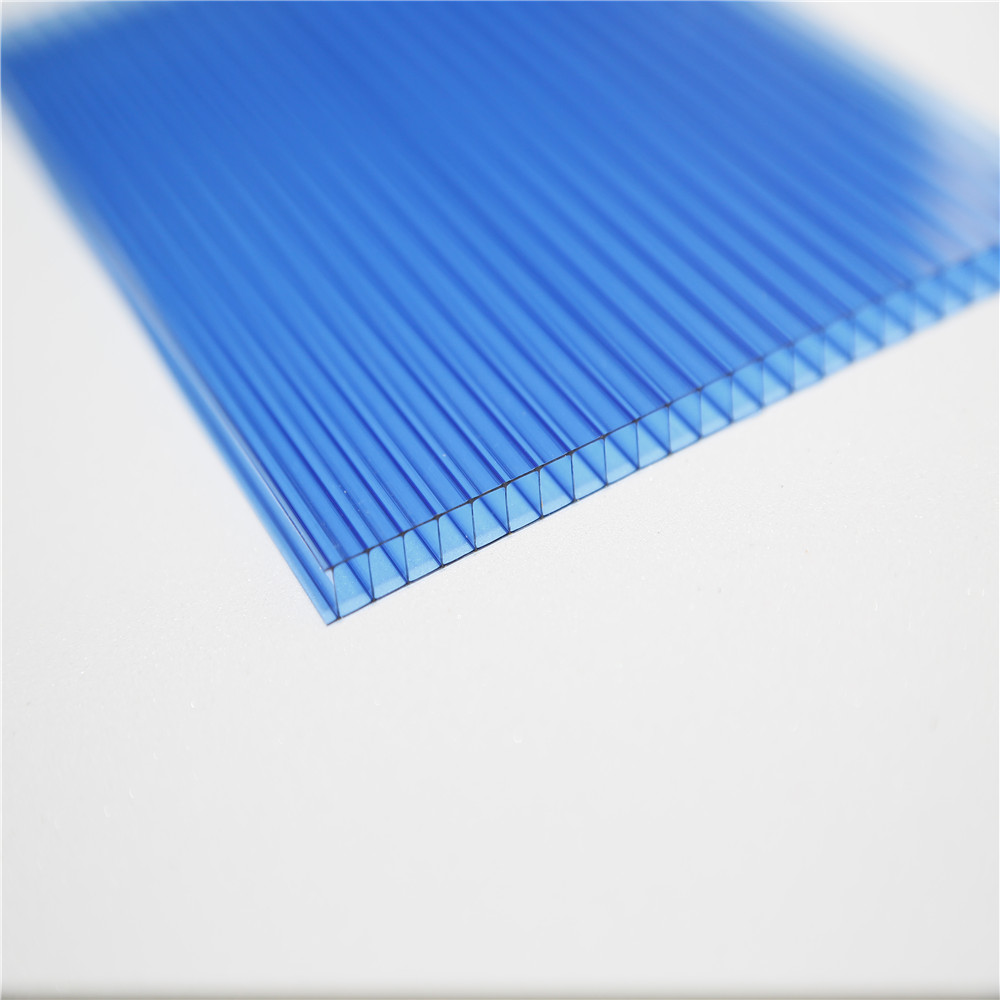 swimming pool glass cover hollow polycarbonate sheet for plastic roofing material