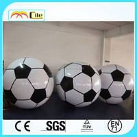 CILE 2015 Hot Selling customized Inflatable football float on water or with Helium to Fly