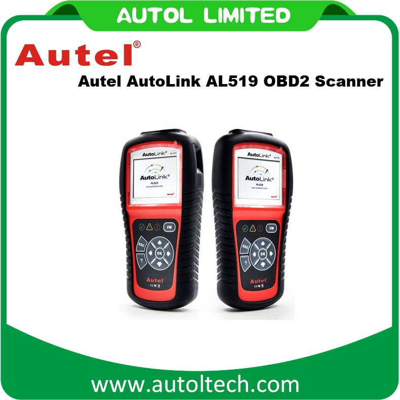 Original Autel Automotive Scanner AutoLink AL519 OBD2 Scanner Tools AL519 Diagnostic Tool