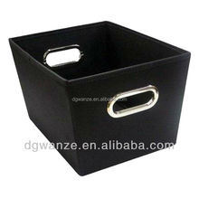 Wholesale polyester fabric foldable toy storage boxes