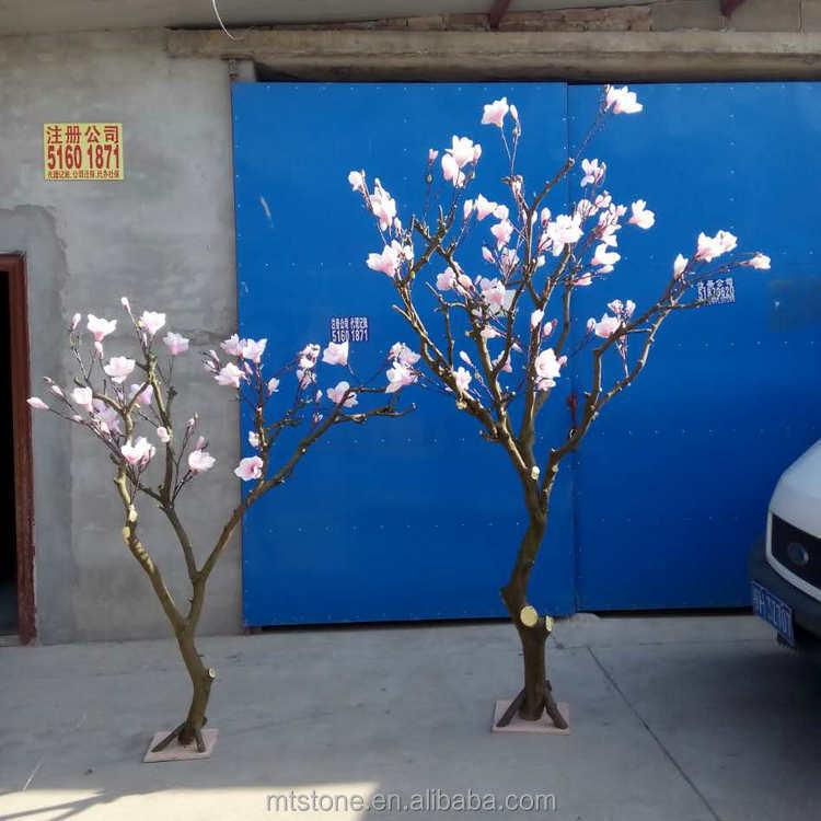 L01645 trockenen baum dekoration blumenschmuck k nstliche magnolia baum hochzeit baum blumen - Como decorar un arbol seco ...