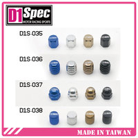 D1 SPEC Aluminum all Car models Tire air Valve Caps Air cap