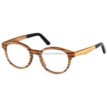 Latest style factory directly real wood style pictures of optical frames