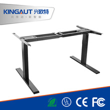 electric height adjustable table leg metal workstation legs