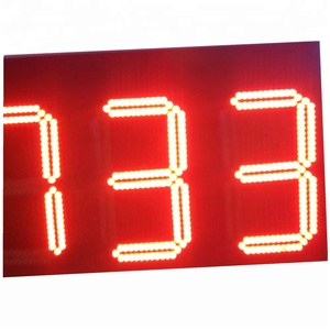 Outdoor 7 segment/Gas Price Screen Led Digital Display