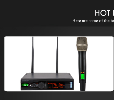 High sensitivity gooseneck wireless conference microphone