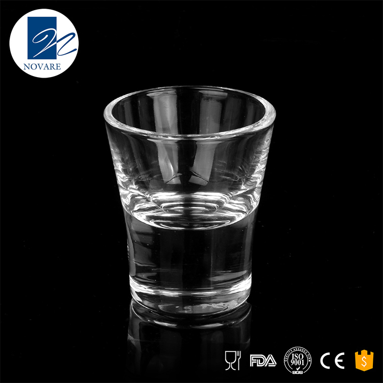 Best selling 70ml clear lead-free shot glasses for wholesale