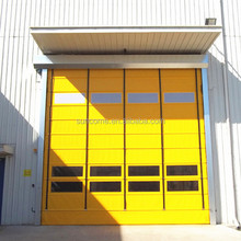 Insulated H-5000 Plastic Pvc Outdoor Folding Door