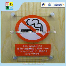 transparent acrylic signsNO SMOKING, acrylic sign letters, acrylic sign board manufacturer