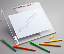Kids Transparent/Clear Acrylic Writing Slope for Better Writing Posture Acrylic Writing Board/slope