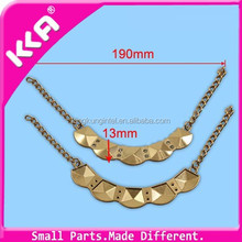 Clothes Decorative Buckles/ Rhinestone Chain Buckles for woman garment