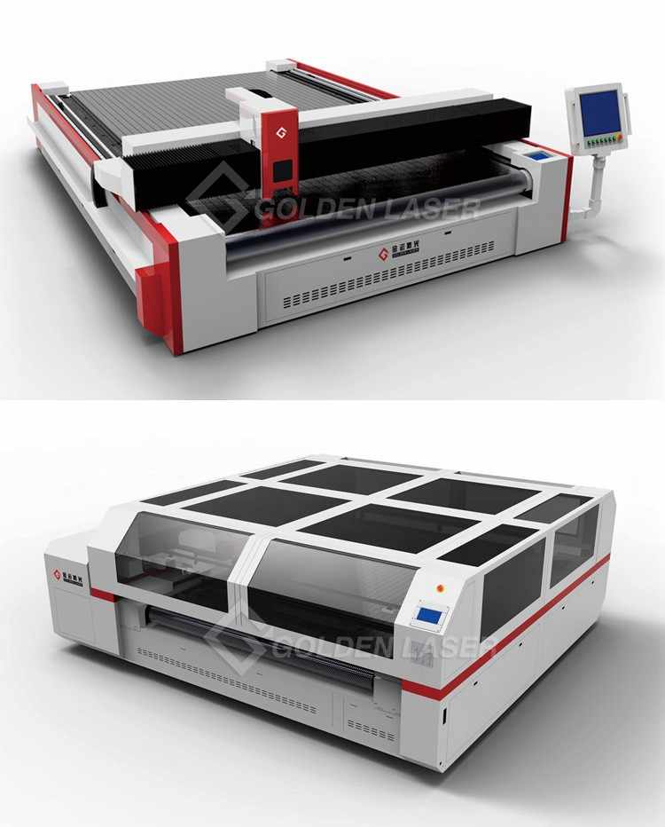 Silicone Coated Fiberglass Laser Cutter Machine