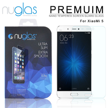 New Premium Nuglas Tempered Glass Film Screen Protector for Xiaomi Mi5