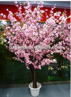 artificial peach blossom artificial plastic peach tree fake peach tree plant