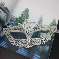 WHLS-048 Yiwu Caddy Party Supplies Lady Party Lace Mask Black Sex Mask