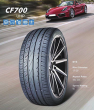 Chinese PCR passenger car tire 275/40ZR19
