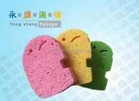 baby bath cellulose wet sponge with soap