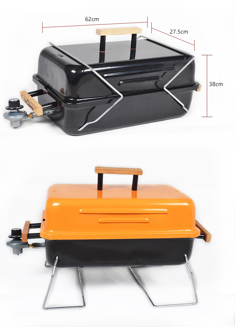 portable folding tabletop barbecue grill Camping charcoal bbq grill