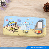 New products metal tin pencil box with study product set school stationery